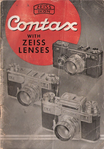 Contax with Zeiss Lenses (English) PDF DOWNLOAD! - Zeiss-Ikon- Petrakla Classic Cameras