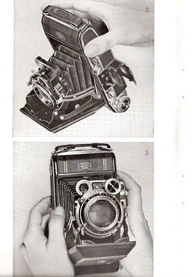 14 SUPERB Zeiss Ikon (Super) Ikonta manuals, PDFs DOWNLOAD!