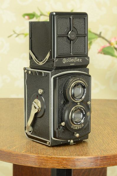 Superb! 1938 Old Standard Rolleiflex, Freshly Serviced, CLA'd
