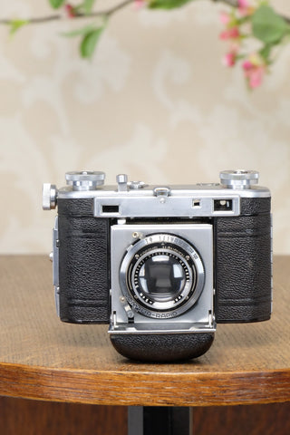 Excellent! 1938 35mm Certo Super Dollina Rangefinder camera, CLA'd, Freshly Serviced! - Certo- Petrakla Classic Cameras