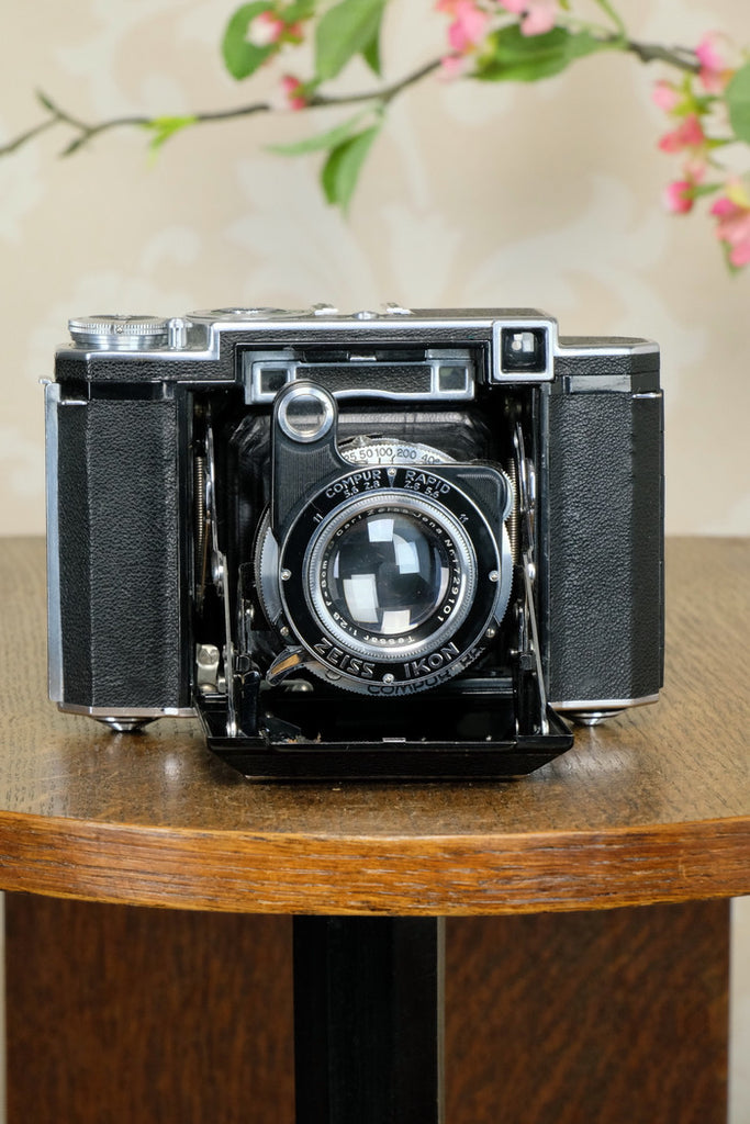 1936 Zeiss Ikon Super Ikonta, Tessar lens, CLA'd, Freshly Serviced!