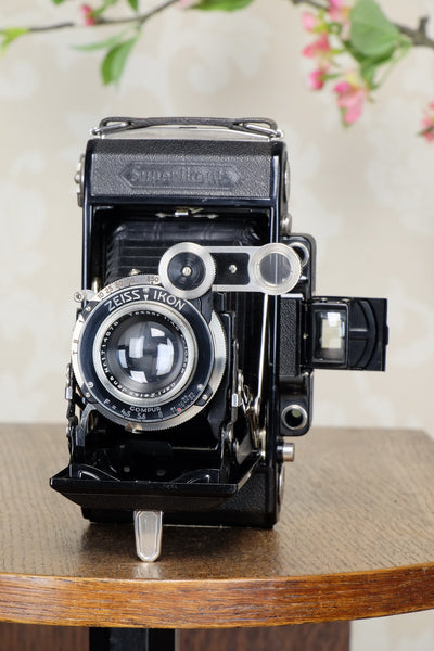 SUPERB! 1936 6x9 Super Ikonta with Tessar Lens, FRESHLY SERVICED - Zeiss-Ikon- Petrakla Classic Cameras