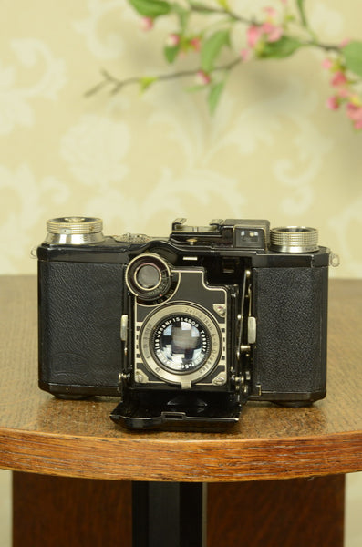 Superb! 1934 Zeiss-Ikon Super Nettel (236/24) Freshly serviced! - Zeiss-Ikon- Petrakla Classic Cameras