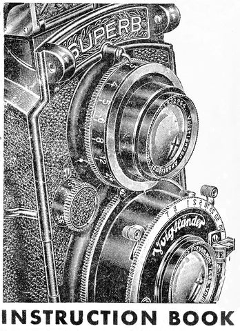 Voigtlander Superb Instruction book, PDF DOWNLOAD! - Voigtlander- Petrakla Classic Cameras