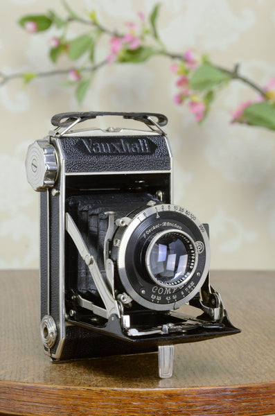 NEAR MINT! 1936 BEIER – VAUXHALL 6x6 medium format camera, FRESHLY SERVICED! - Beier- Petrakla Classic Cameras