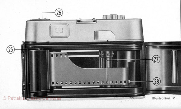 Voigtlander Vito CD, Instructions for use. PDF DOWNLOAD! - Voigtlander- Petrakla Classic Cameras