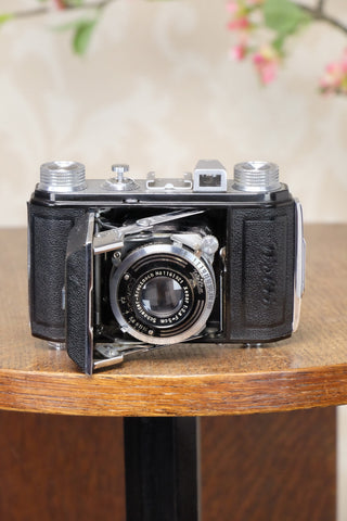 SUPERB!  1938 Welta Welti, 35mm Camera, CLA'd, Freshly Serviced! - Welta- Petrakla Classic Cameras