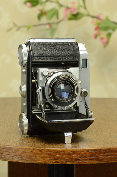 SUPERB!  1941 Welta Weltini, 35mm Rangefinder Camera. FRESHLY SERVICED!