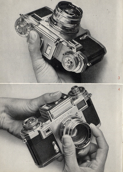 Instruction book Contax IIIa (English) PDF DOWNLOAD! - Zeiss-Ikon- Petrakla Classic Cameras