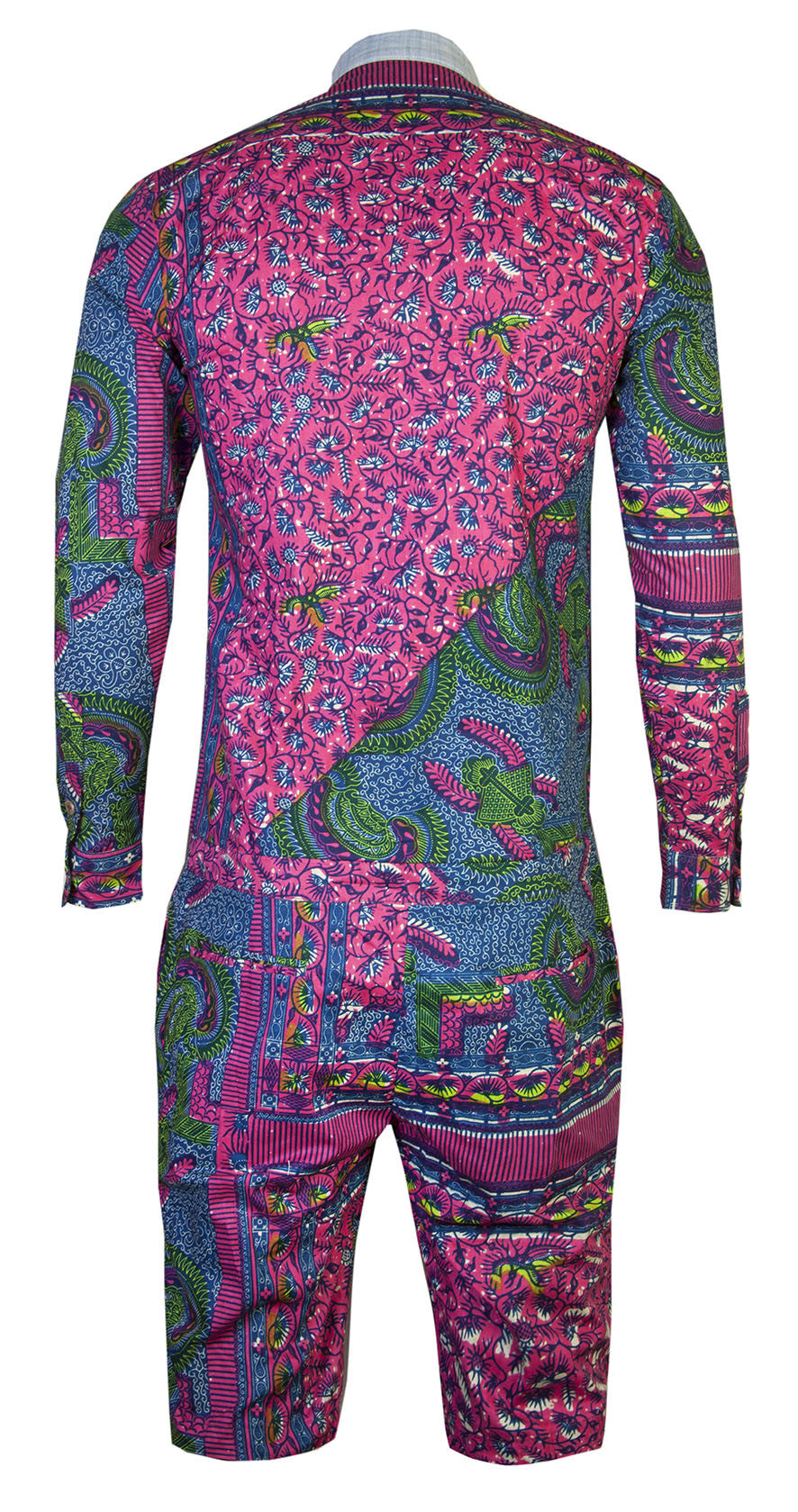 Alex Men's onesie - OHEMA OHENE AFRICAN INSPIRED FASHION  - 2