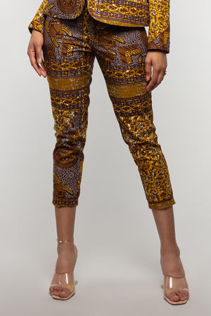 Doreen African print trousers-