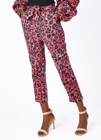 Doreen African print trousers- Botanical