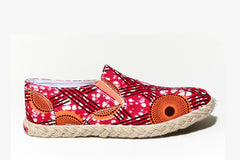 African print espadrille-Oh! Sam Hot Star - OHEMA OHENE AFRICAN INSPIRED FASHION  - 1