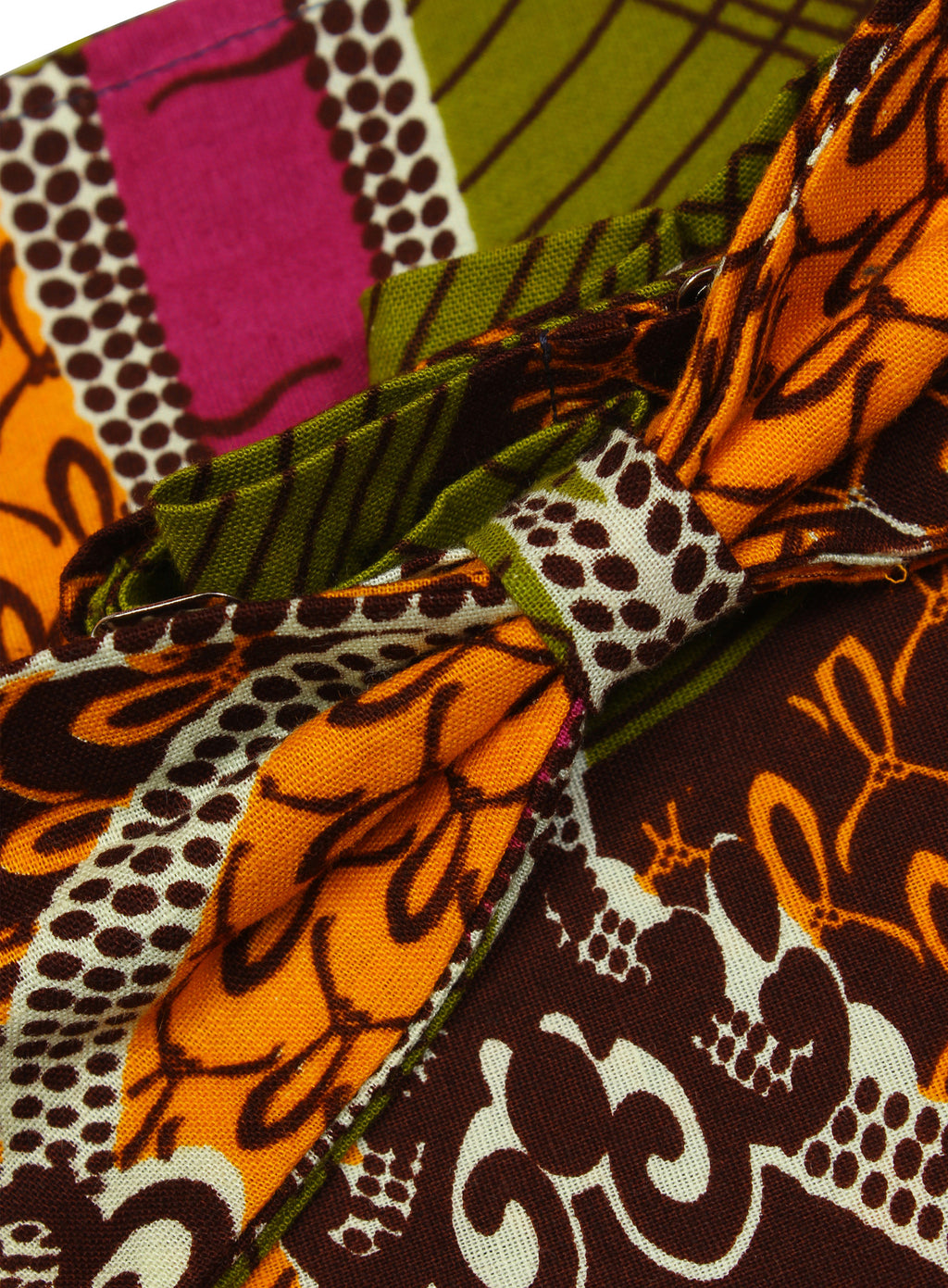 Men's African Print Bow Tie & Pocket Square-Chandelier - OHEMA OHENE AFRICAN INSPIRED FASHION  - 2