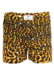 Men's Leopard Print Boxer Shorts - OHEMA OHENE AFRICAN INSPIRED FASHION  - 3