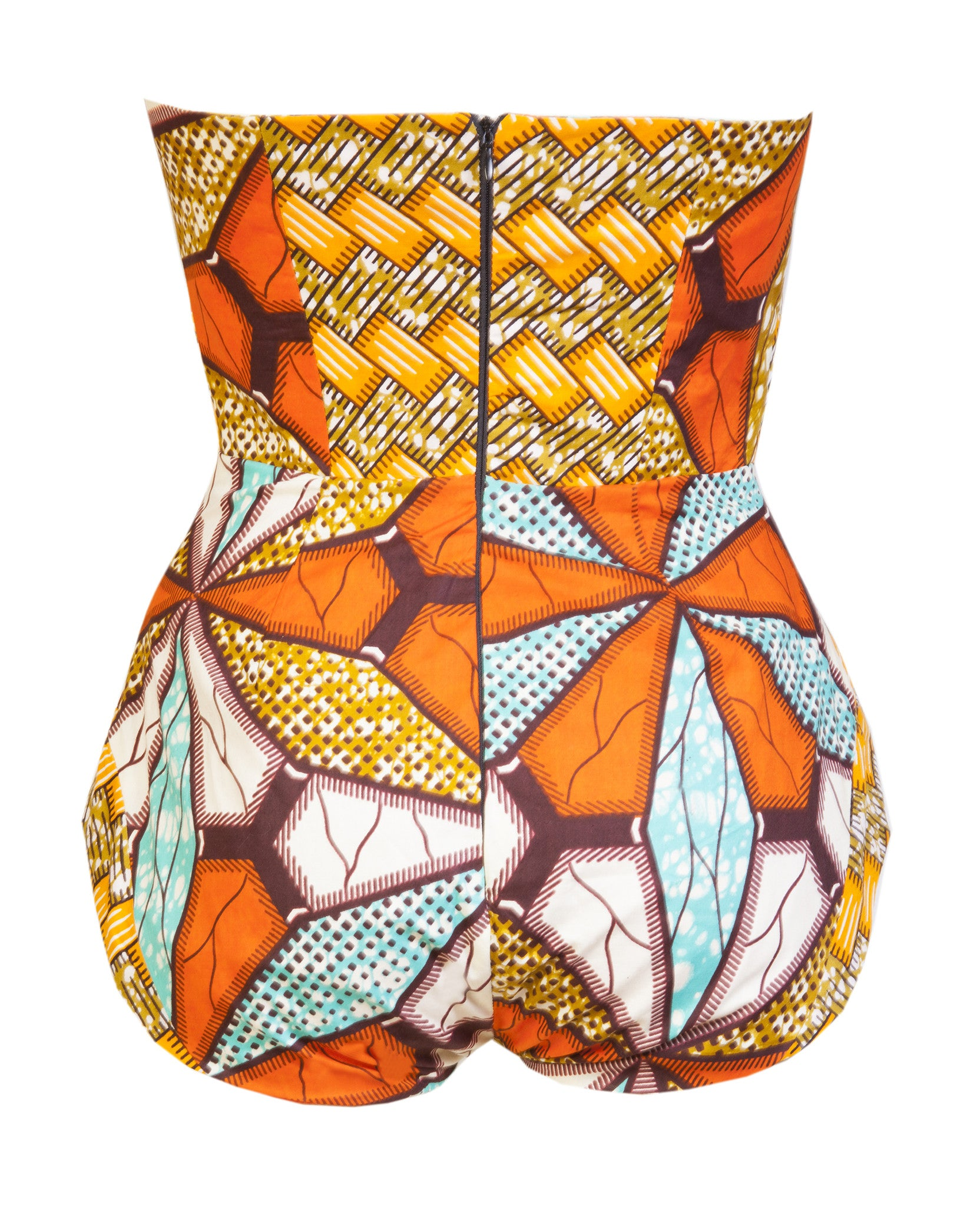 Mrs Carter bodysuit - OHEMA OHENE AFRICAN INSPIRED FASHION  - 2