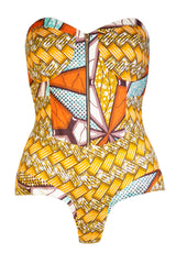Mrs Carter bodysuit - OHEMA OHENE AFRICAN INSPIRED FASHION  - 1