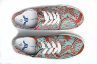 African Print Canvas Sneaker - OHEMA OHENE AFRICAN INSPIRED FASHION  - 2