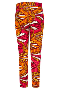 Ladies African print trousers