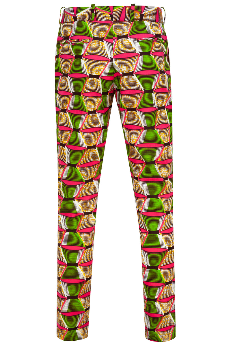 Men's African print trousers