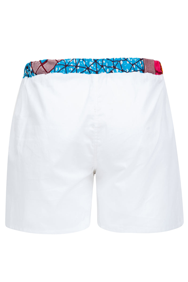 African print boxer shorts Ohema Ohene