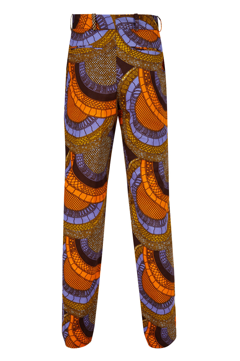 Ohema Ohene African print trousers Mens