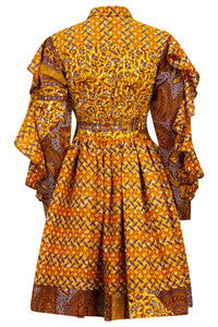 African print dress Ohema Ohene