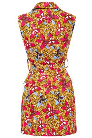 Africa print dress Ohema Ohene