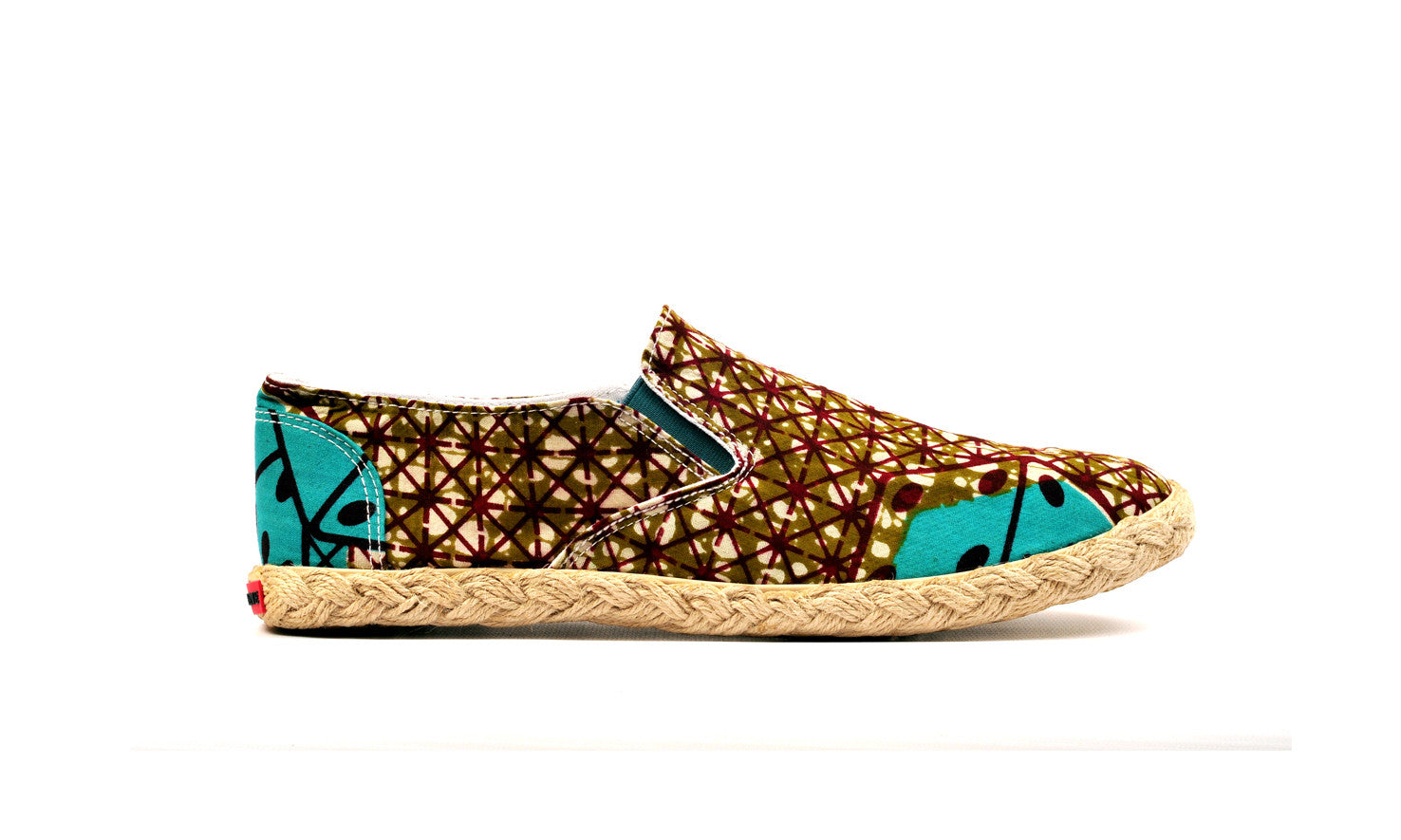 Printed Espadrille-Oh! Sam dice - OHEMA OHENE AFRICAN INSPIRED FASHION  - 1