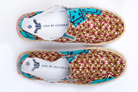Printed Espadrille-Oh! Sam dice - OHEMA OHENE AFRICAN INSPIRED FASHION  - 2