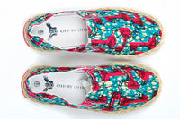 Patterned Espadrille-Oh! Sam Keys - OHEMA OHENE AFRICAN INSPIRED FASHION  - 2