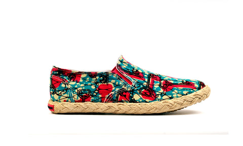 Patterned Espadrille-Oh! Sam Keys