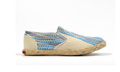 Patterned Espadrille-Pencil - OHEMA OHENE AFRICAN INSPIRED FASHION  - 1