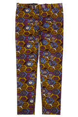 African print trousers-Geox - OHEMA OHENE AFRICAN INSPIRED FASHION  - 1