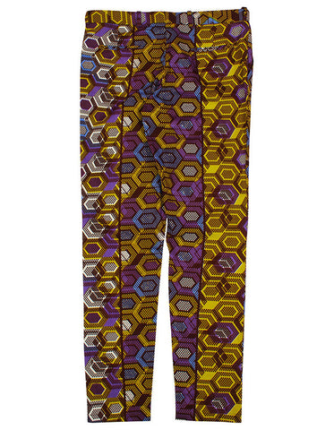 African print trousers-Geox