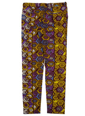 African print trousers-Geox - OHEMA OHENE AFRICAN INSPIRED FASHION  - 2