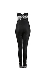 Angela- Embroidered Catsuit - OHEMA OHENE AFRICAN INSPIRED FASHION  - 4