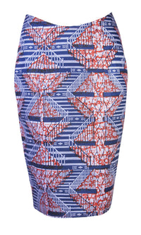 Abi-African Print Skirt - OHEMA OHENE AFRICAN INSPIRED FASHION  - 1