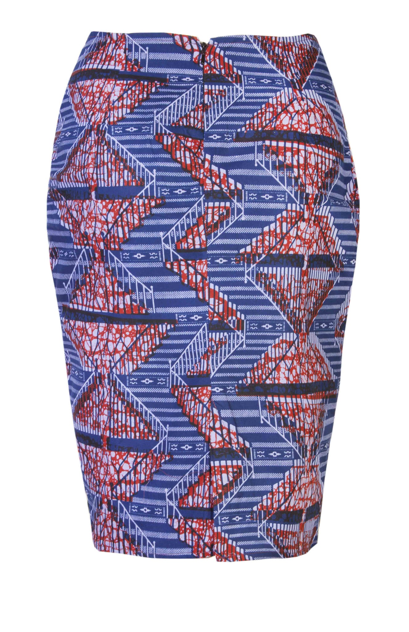 Abi-African Print Skirt - OHEMA OHENE AFRICAN INSPIRED FASHION  - 2