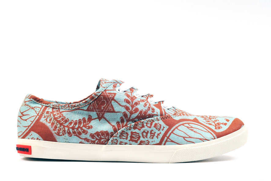 African Print Canvas Sneaker - OHEMA OHENE AFRICAN INSPIRED FASHION  - 1
