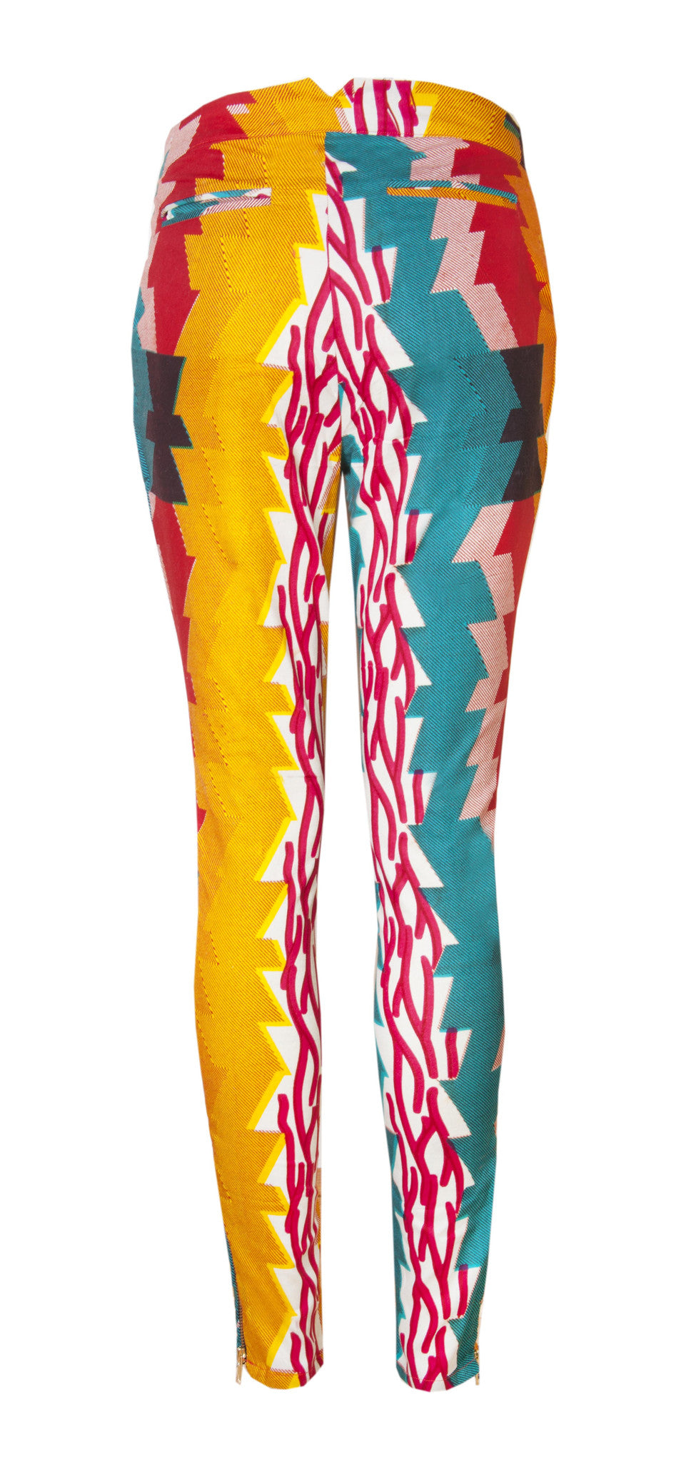Stardust African print trousers - OHEMA OHENE AFRICAN INSPIRED FASHION  - 2