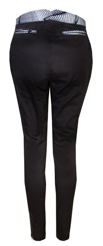 Ladies Black stretch trousers
