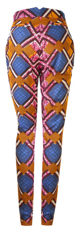 Libby African print trousers