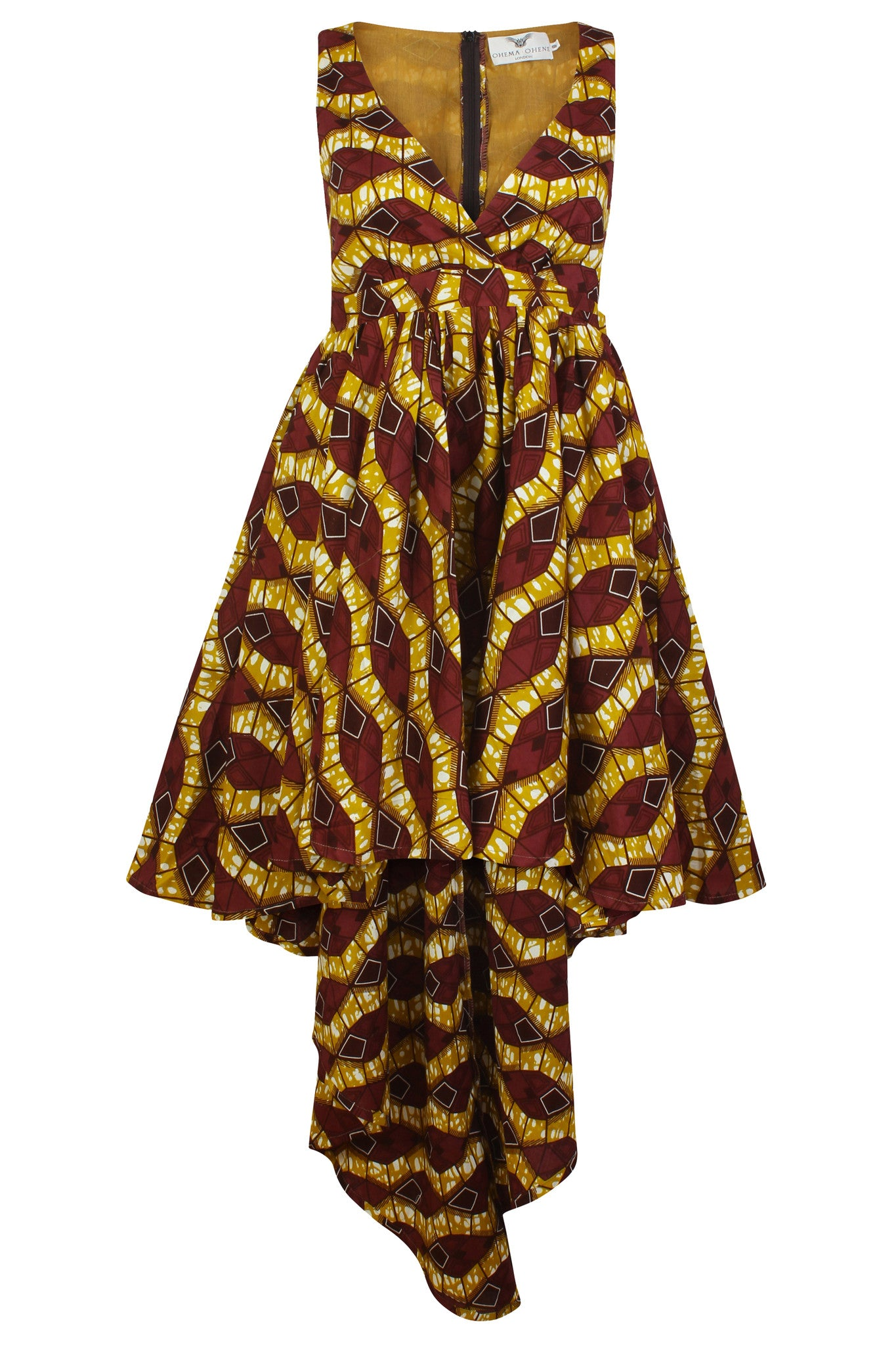 Azzme 'Louisa' African print Maxi Dress - OHEMA OHENE AFRICAN INSPIRED FASHION