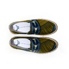 African Print Espadrille- Oh! Sam sugar cane - OHEMA OHENE AFRICAN INSPIRED FASHION  - 2