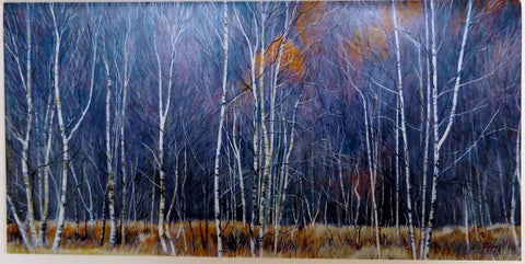 Card - Glen Ure Birches