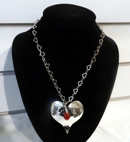 Silver pendant - Love Heart