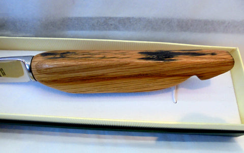 Cheese knife - Whisky Barrel Stave handle #21