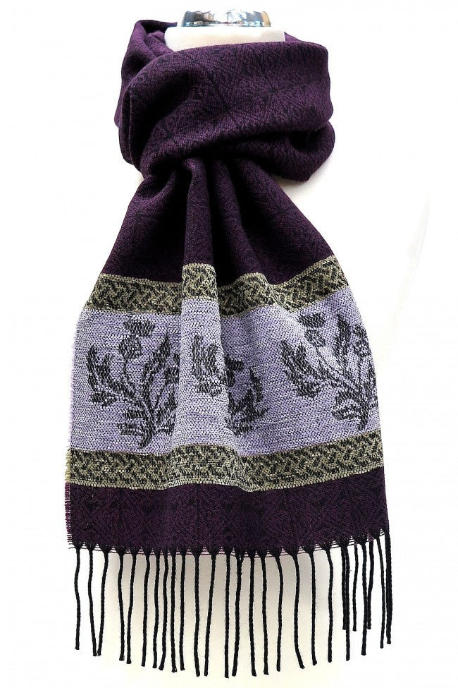 Scarf - Celtic Thistle
