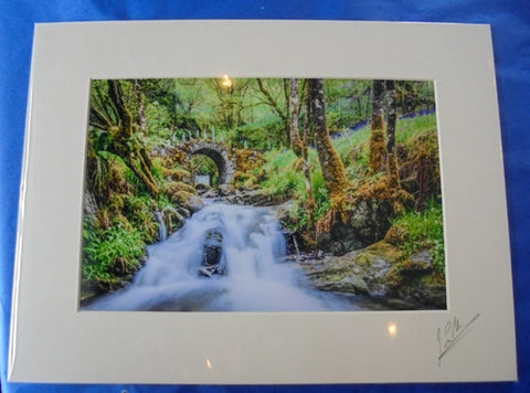 Mounted Print - Fairy Bridge